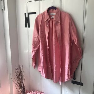 Brooks Brothers Pink Button Up